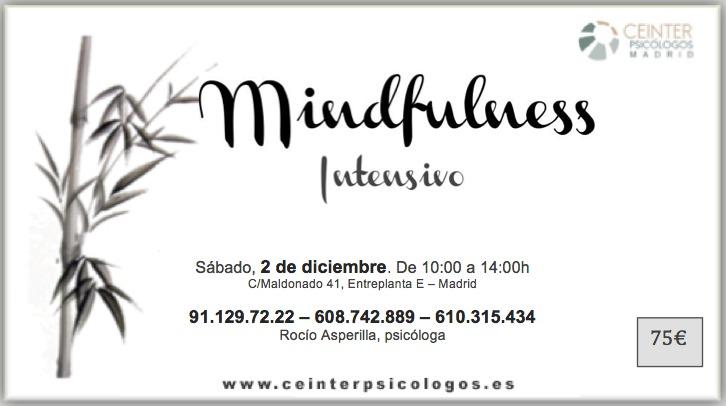 Taller Intensivo de Mindfulness en Ceinter Psicologos